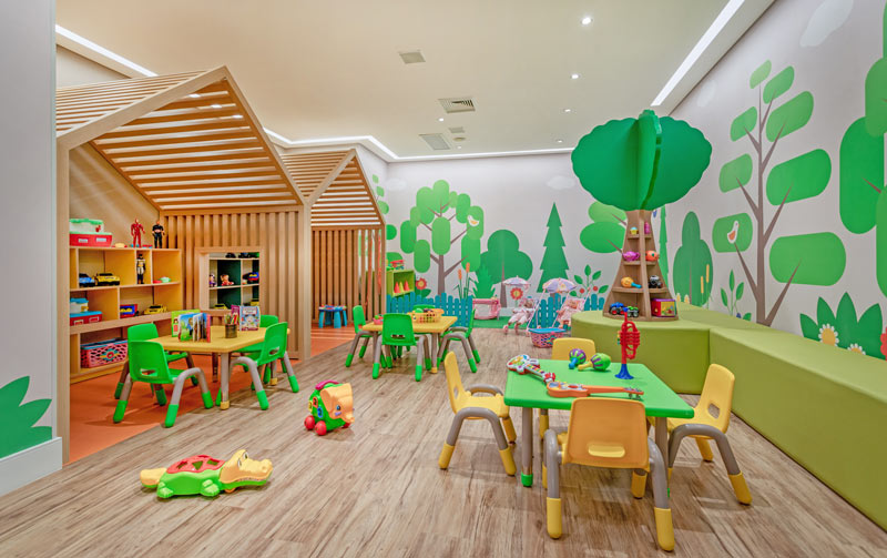 Espaço Kids trazendo jogos e diversão para os pequenos