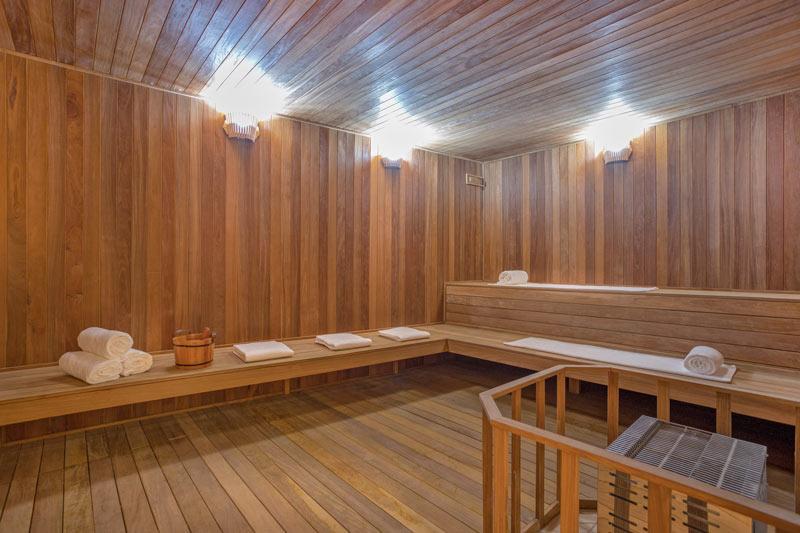 Sauna seca levando pra você oque gramado tem de melhor