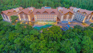 Wyntham Resort vista aérea (Resorts em Gramado)
