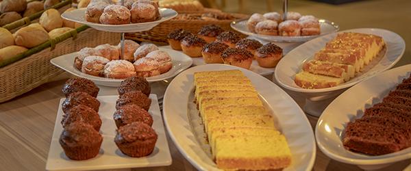 Café da manhã do Wyndham Gramado