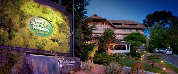 Fachada do Hotel Casa da Montanha
