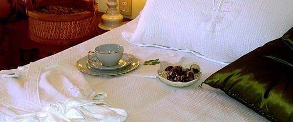 acomodação do Hotel e Spa do Vinho