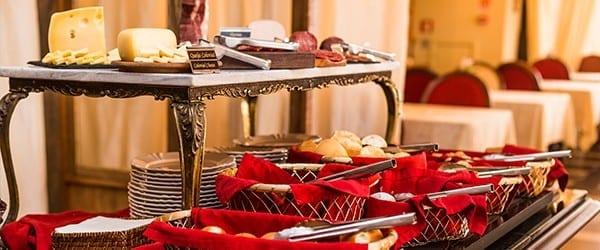 café da manhã do Hotel & Spa do Vinho