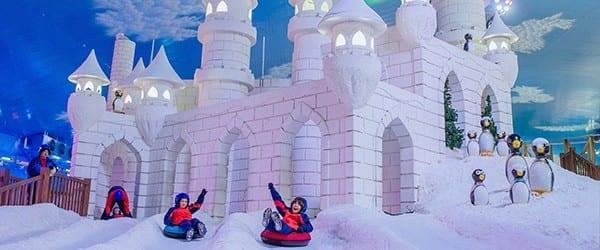 Castelo de Gelo no Snowland