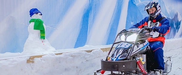SnowKart no Snowland