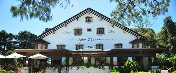 Fachada do Hotel Ritta Höppner
