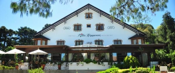A bela fachada do Hotel Ritta Höppner