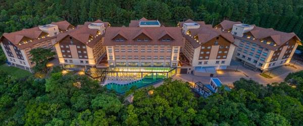 Vista panorâmica do Wyndham Gramado