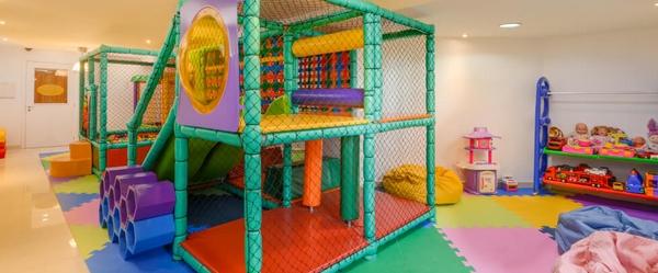 Vista parcial do Kids Club do Wish Serrano