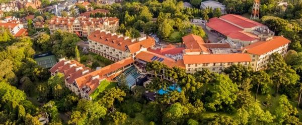 Vista aérea do Wish Serrano, em Gramado