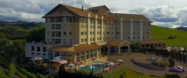 O belíssimo Hotel Spa do Vinho